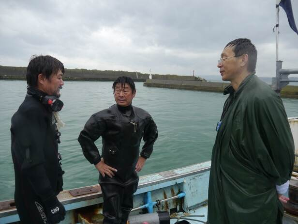 Evaluation of the first dive