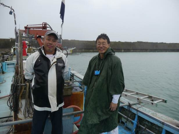 Mister Niida and prof. Iwabuchi